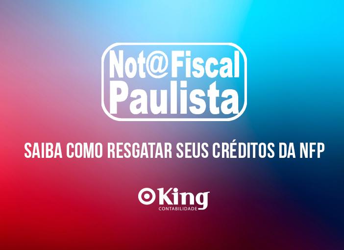 Saiba como resgatar seus créditos da Nota Fiscal Paulista