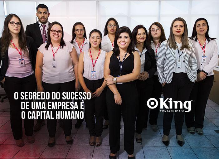 O Segredo do Sucesso de uma empresa é o Capital Humano