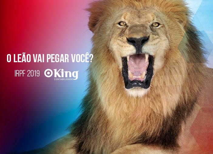 O Leão vai pegar você?