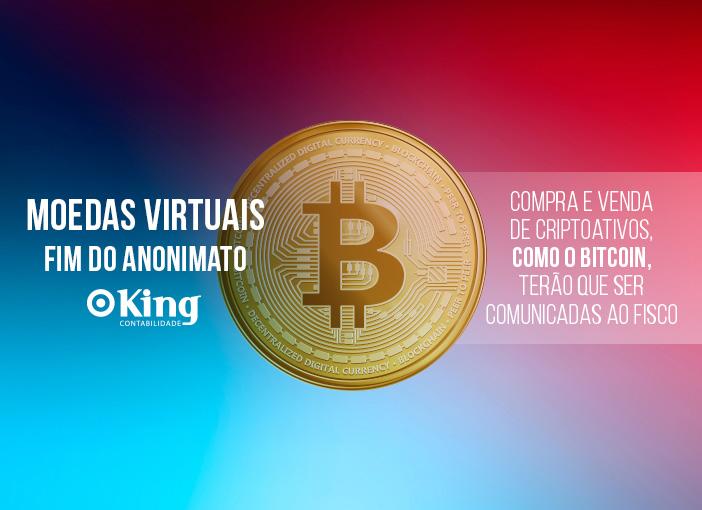 Moedas Virtuais – Fim do Anonimato