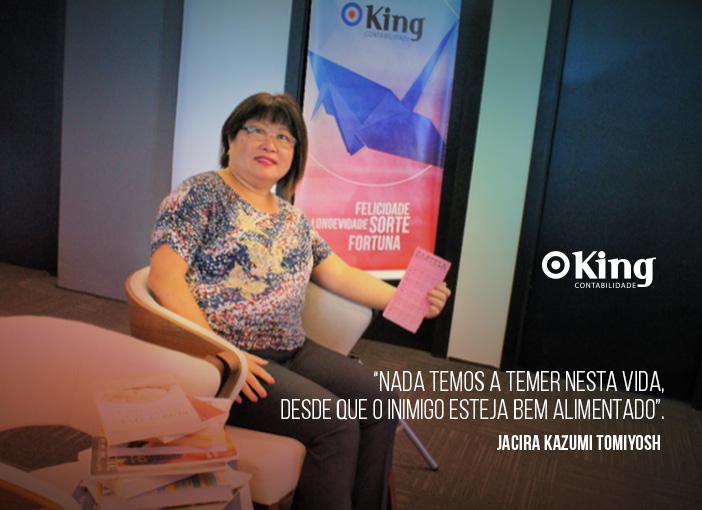 Com quantos talentos se faz o sucesso, com Jacira Kazumi Tomiyoshi